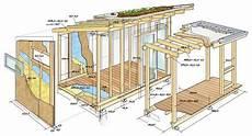 holzschuppen bauen anleitung gartenhaus selber bauen mit dieser bauanleitung geht