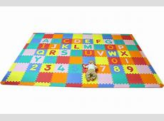 Large Foam ABC 123 Mat   Play Mat For Kids