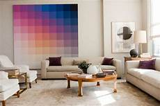 Farbverlauf Wand Streichen - create a color gradient with ombre design