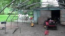 Garage An Garage Anbauen by How To Build A Cheap Garage Part 1 Mp4