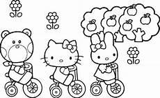 kumpulan gambar kartun hello kity hitam putih galeri kartun