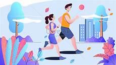 Ilustrasi Vektor Olahraga Lari Gambar Unduh Gratis