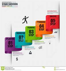 infographic staircase step business vector design template infographic staircase step vector design template stock vector illustration of infographics