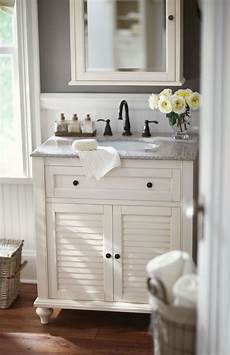 Small Bathroom Cabinets Ideas Small Bath No Problem A Single Vanity Like This One Is