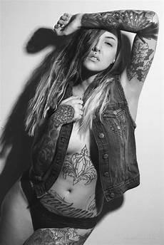 tattoo model michelle half latino from sweden