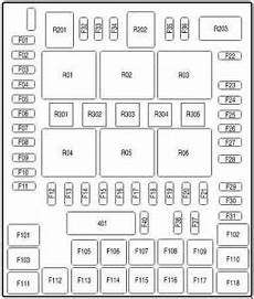Ford F 150 2004 2008 Fuse Box Diagram Auto Genius