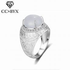 cc vintage s925 silver chinese style rings for men bridegroom wedding engagement ring malaysian