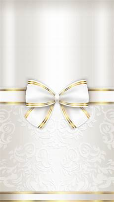 Iphone Wallpaper White And Gold by Gold And White Ivory In 2019 Bow Wallpaper Bling