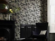 Un Papier Peint Noir Et Blanc Pour Un Mur 233 L 233 Gant