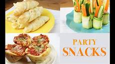 Snack Ideen - snack ideas easy and fast to make