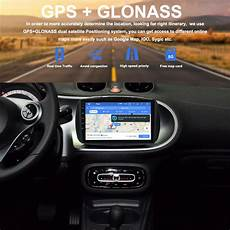 car android 8 0 gps radio for smart fortwo c453 a453 w453