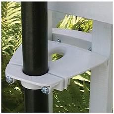 attache parasol pour balcon supports pour parasol sunclip abris soleil parasols canac