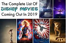 the complete list of disney movies coming out in 2019