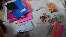 Diy Customiser Ses Fournitures Scolaires Beyourself