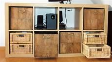 Regal Mit Körben Ikea - regal expedit ikea 4x2 f 228 cher 79x39x149cm mit k 246 rben wie neu