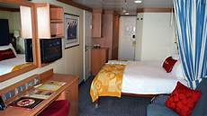 disney cruise line stateroom 9566 room tour the disney dream includes verandah view youtube