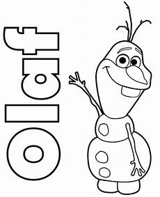 olaf coloring pages gallery whitesbelfast