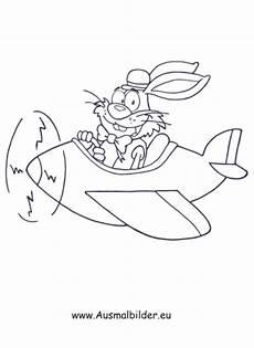 Ausmalbilder Osterhase Im Auto Ausmalbilder Osterhase Im Flugzeug Osterhasen Malvorlagen