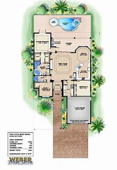 mediterranean house plans with pool mediterranean house plan narrow lot florida home floor