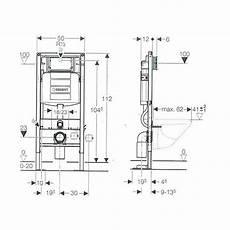 bati support wc autoportant duofix sigma 12cm bains