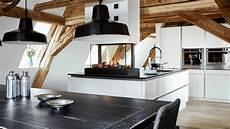 moderne küche mit insel moderne insel k 252 che mit kamin