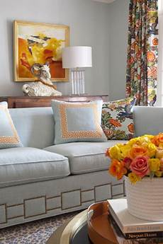 gray and orange rooms transitional living room parker kennedy living