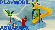 Playmobil Ausmalbilder Schwimmbad Playmobil Aquapark Mit Rutschentower Neuheit 6669