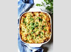 creamy tuna pasta bake_image