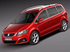 Seat Alhambra 2016 3d Model Max Obj 3ds Fbx C4d Lwo Lw Lws