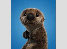 Sea Otters   Finding Dory   PIXAR   shopDisney