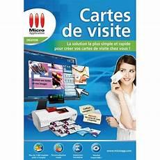 Micro Application Cartes De Visite Prix Pas Cher Cdiscount