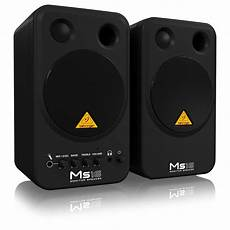 behringer ms16 studio monitors pair at gear4music