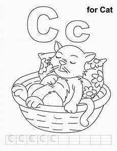letter c for cat worksheets 24045 letter c coloring pages coloring home