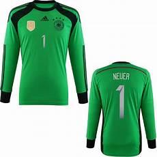 adidas manuel neuer germany goalkeeper 4 home jersey