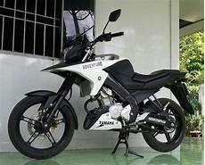 Vixion Touring Style by Modifikasi Yamaha Vixion Nvl Ala Supermoto Adventure Ini