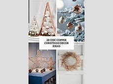 28 Chic Copper Christmas Décor Ideas   DigsDigs