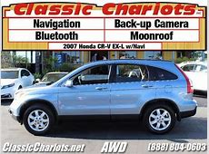 **sold**Used SUV Near Me   2007 Honda CR V EX L w/Navi