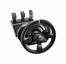 xbox one lenkrad mit pedalen thrustmaster tx racing leather edition lenkrad mit