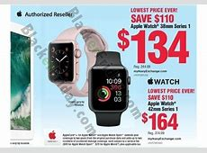 cyber monday apple watch 3