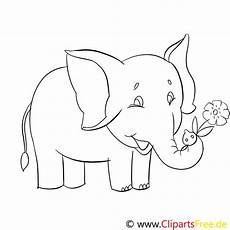 Bilder Zum Ausmalen Zoo Ausmalbilder Lustige Tiere Im Zoo Elefant