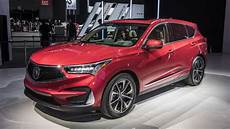2019 acura specs 2019 acura rdx debuts in n y with a spec version and