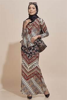 kaisara kebaya peplum batik code ks11 habra fashion gallery