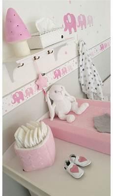 kinderzimmer bord 252 re elefanten rosa grau selbstklebend