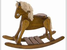 Amish Hardwood Rocking Horse
