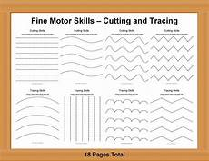 handwriting worksheets for motor skills 20666 motor skills cutting and tracing cakepins pre writing activities prewriting