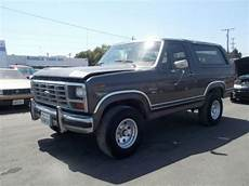 how to work on cars 1985 ford bronco electronic valve timing buy used 1985 ford bronco no reserve in anaheim california united states
