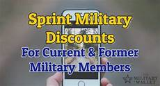 sprint military discount available for military members and veterans