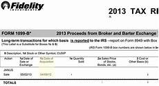 td ameritrade 1099 b proceeds from broker tax reporting