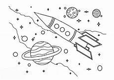 Malvorlagen Rakete Weltraum Gratis Ausmalbilder Rakete Malvorlagentv