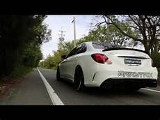 c43 amg tuning armytrix exhaust for mercedes c43 c450 amg w205 on vc